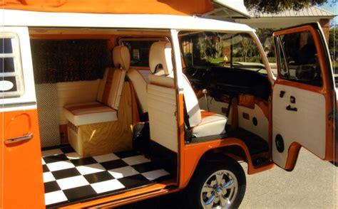 volkswagen westfalia custom camper bus