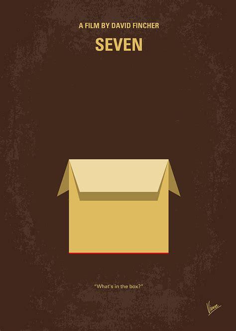 No233 My Seven Minimal Movie Poster Digital Art By