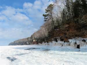 Bayfield Ice Caves Lake Superior
