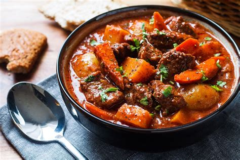 slow cooker beef stew recipe  butternut carrot