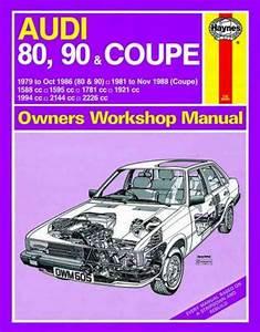 Audi 80 90 Coupe 1979 1988 Haynes Service Repair Manual Uk