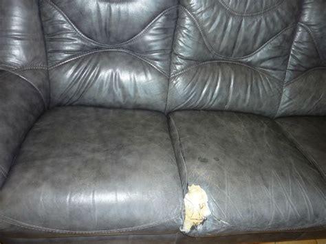 réparer canapé cuir reparer un canape en cuir dechire 28 images comment