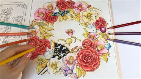 kanzashi menuet de bonheur coloring book youtube
