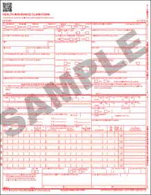 HCFA 1500 Form (02-12) 2,500 QTY