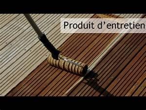 produit d39entretien terrasse bardage et cloture bois youtube With produit traitement bois exterieur