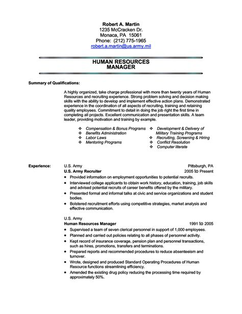 Usmc Resume by Resume Exles Best Template Collection