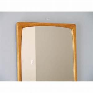 Grand Miroir Vintage : miroir scandinave vintage bois la maison retro ~ Teatrodelosmanantiales.com Idées de Décoration