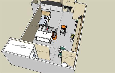 images  workshop layout  pinterest shops shop plans  fine woodworking