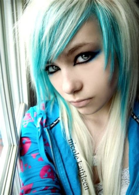 43 Best Images About Blonde Blue Hair On Pinterest