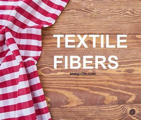 types  fibers  list  man  natural