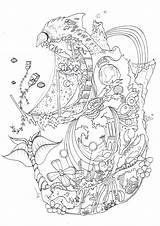 Coloring X2 Castle Moving Kyuubi Overrated Howls Deviantart Abstract Template sketch template