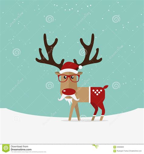 red nose christmas reindeer nose for ornament vector illustration cartoondealer 64033614
