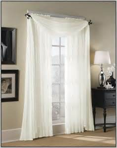 sheer priscilla curtains with attached valance curtains