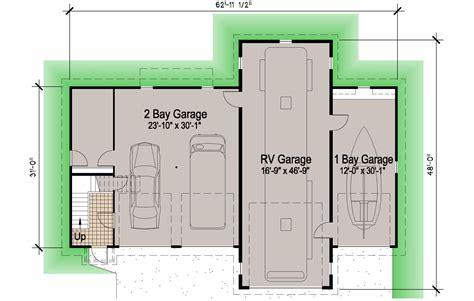 Boat Workshop Plans by 93 Rv Garage Blueprints Boat Rv Garage 1754