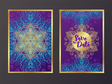 Rich Wedding Invitations Indian style Download Free