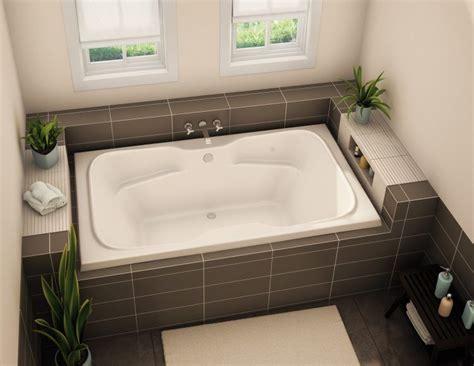 drop in tub surround 20 bathrooms with beautiful drop in tub designs bathroom