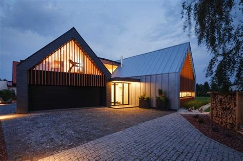 Original Residence In Poland Dictated By Modern Living