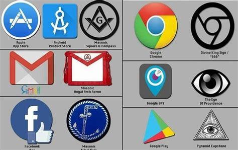Companies Illuminati Logos Symbols