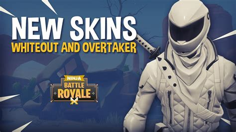 New Whiteout And Overtaker Skins!!