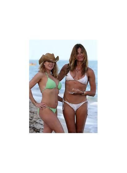 Singer Ramona Kelly Bensimon Beach Bikinis Miami