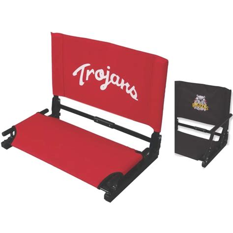 deluxe stadium chair with arms deluxe stadiumchair tm arms usimprints