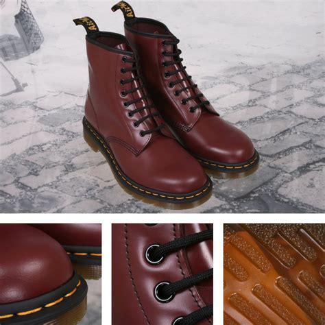 New Martens Eye Boot Cherry Red Smooth Ebay