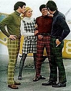 1960s Mens Fashion - feel the groove baby
