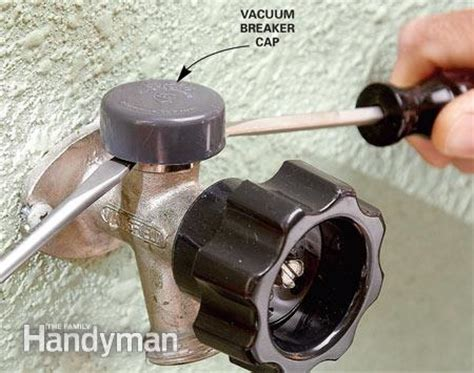how to replace a valve stem on an outside faucet thumbnail