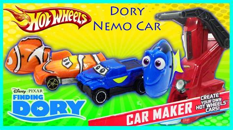Finding Dory & Nemo Car Maker Hot Wheels Disney Pixar