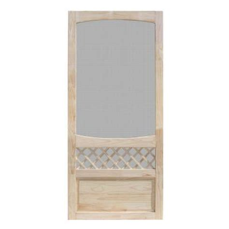 home depot wooden screen doors unique home designs 36 in x 80 in unfinished