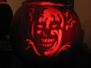 Clown Pumpkin Stencils Free by My Scary Clown Dsu Mike