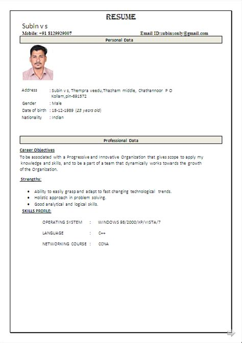 Electronics Resumes For Freshers by Resume Co Beautiful Resume Sle In Word Document B Tech In Electronics And