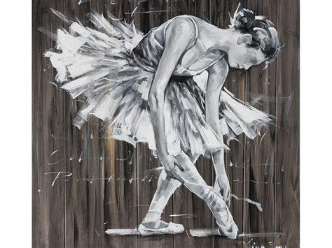 recherche canapé peinture à l 39 huile danseuse 100 100cm balletto