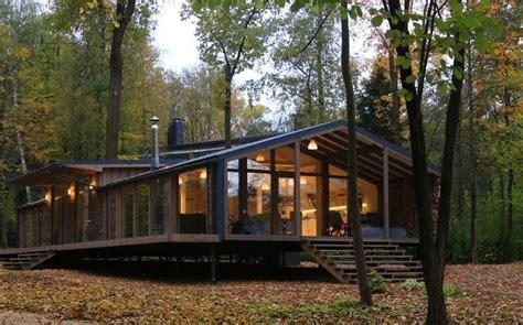 Oekologisch Bauen by 214 Kologisch Bauen Das Fertighaus Im Wald