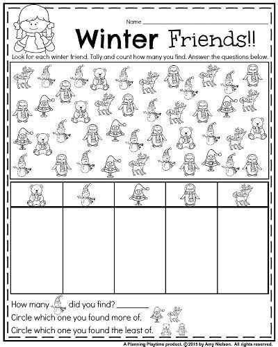 25 best kinder january worksheets images on pinterest