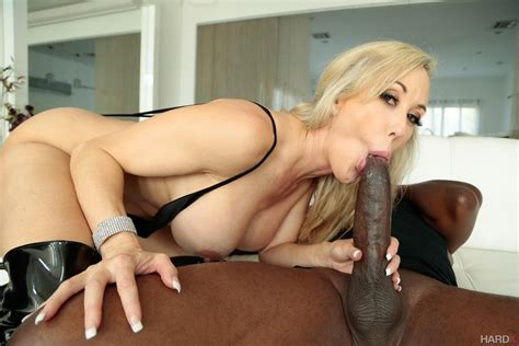 Hot Brandi Love Is Plowed With A Black Meat Pole 1 Of 2