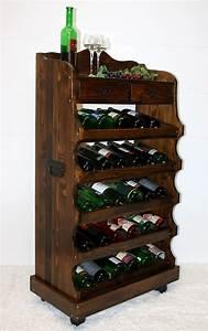 Weinregal Holz Antik : massivholz weinregal flaschenregal 30 flaschen holz fichte massiv kolonial ~ Indierocktalk.com Haus und Dekorationen