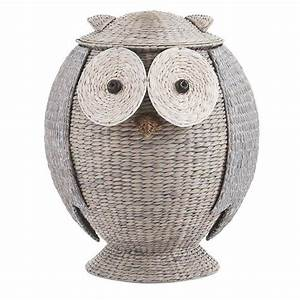 Home Decorators Collection Owl 28 in H x 22 in W Grey
