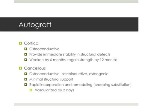 Ppt Bone Graft Substitutes Powerpoint