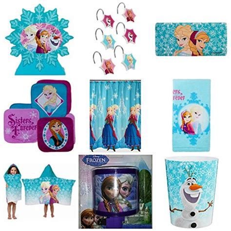 disney frozen bathroom set disney frozen ultimate 9 bathroom accessories set