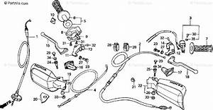 Honda Motorcycle 1999 Oem Parts Diagram For Handle Switch