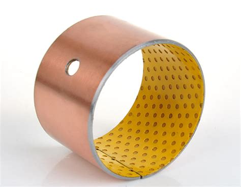 split sleeve steel bushings grease lubricated ptfe