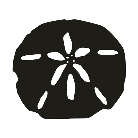 Free download dollar svg icons for logos, websites and mobile apps, useable in sketch or adobe illustrator. Sand Dollar PNG Black And White Transparent Sand Dollar ...