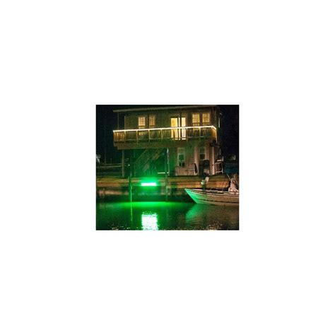 alumiglo dockpro 3500 48 green led dock light tackledirect