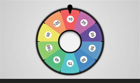 create  colorful spinning wheel  flash