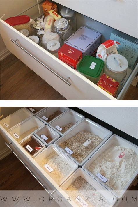 Kitchen Drawer Containers by Organized Kitchen Drawer With Ikea Food Containers