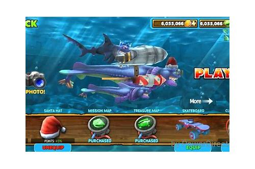hungry shark hack mod apk download