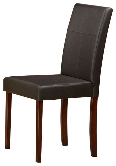 canterbury patty parson dining chair in brown set of 4