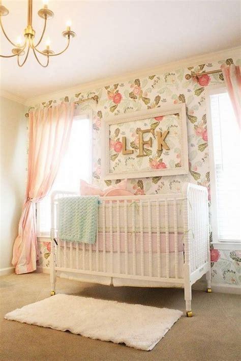 papier peint chambre b b fille chambre bébé fille