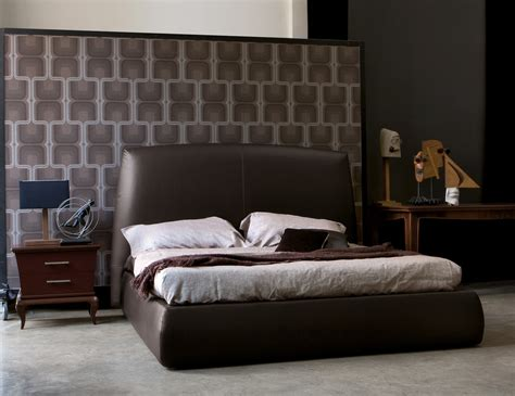 Black Leather Headboard King Size by 20 Contemporary Bedroom Furniture Ideas Decoholic